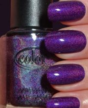 9 easy purple nail art design