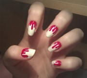 9 simple and easy halloween nail