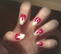 9 Simple and Easy Halloween Nail Art Designs With Pictures ...
