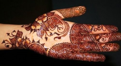 Arabic Mehndi Designs For Front Hands Images