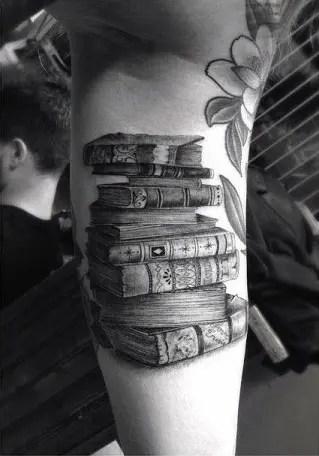 Books Tattoos