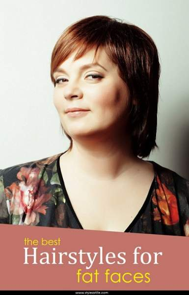 Image Result For Short Hairstyles For Fat Girls
