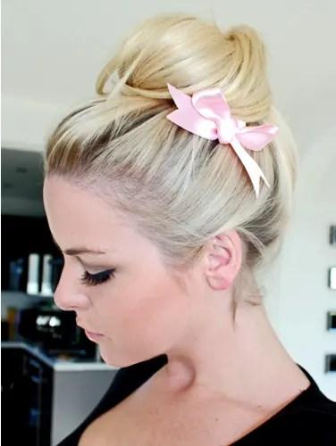 casual bun hairstyles