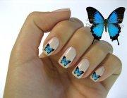 9 beautiful butterfly nail art