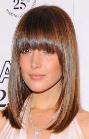 9 fashionable front bang hair cuts