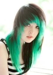 9 emo hairstyles long
