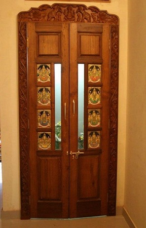 Plywood Doors For Pooja Room