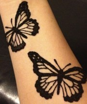 9 ultimate butterfly mehndi design