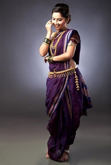 How To Wear Marathi Saree Style Easily  Styles At Life