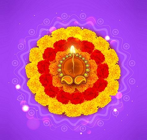 Latest Rangoli Designs Flower Rangoli Designs
