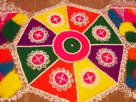 Latest Rangoli Designs Traditional Designs