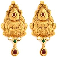 9 Beautiful Antique Earrings Jewellery Designs | Styles At ...