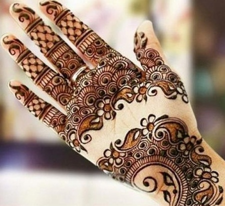 Indian Mehndi Designs For Hands Images