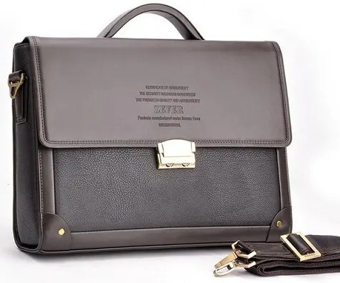 Men's Briefcase Bag for Office Use