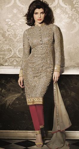 Straight Cut Salwar Suit Design