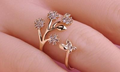 9 New Designs of Designer Diamond Rings for Women