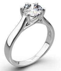 9 Classic Designs of Solitaire Diamond Rings for Engagement