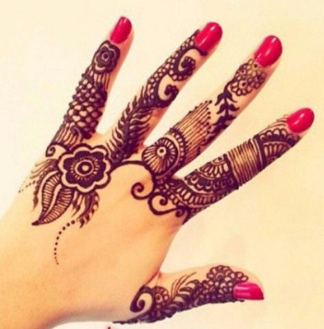 Khafif Mehndi Designs For Hands Images