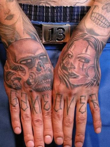 Gangster Hand Tattoos : gangster, tattoos, Powerful, Gangster, Tattoo, Designs, Styles