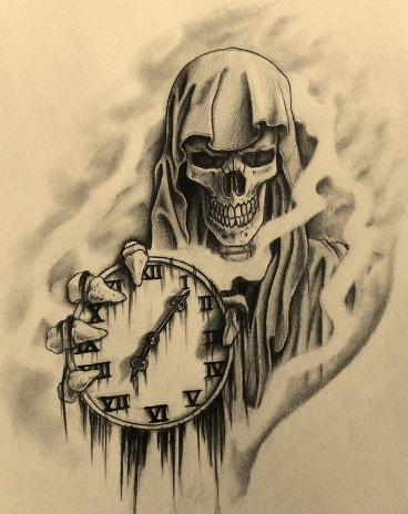 Image result for time of death tattoo