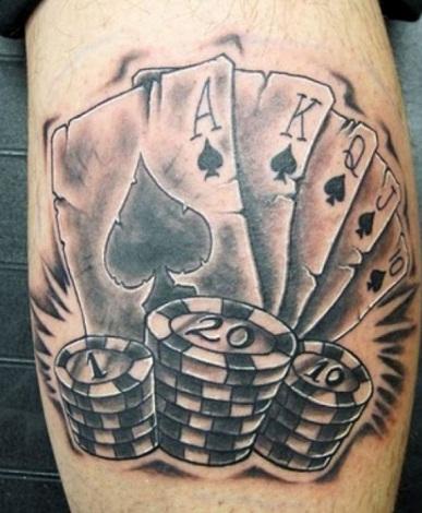 Joker Card Tattoo Designs
