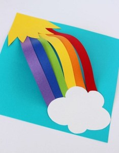 Simple chart rainbow crafts also easy for kids and toddlers styles at life rh stylesatlife