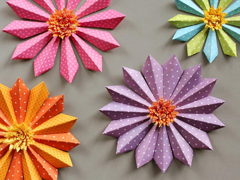 9 Awesome Flower Craft Ideas For Adults And Kids Styles At Life