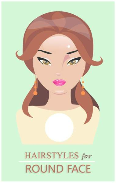25 Best and Suitable Hairstyles for Round Face Shapes of Women