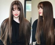 latest hairstyles long straight
