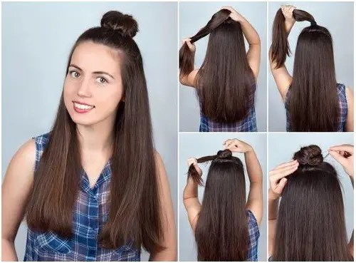 girls hairstyle for college