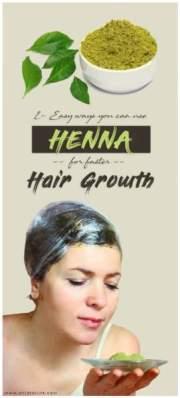 apply henna hair growth