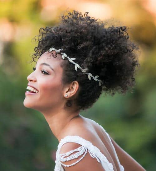 10 Latest And Stylish Wedding Hairstyles For Curly Hair Styles