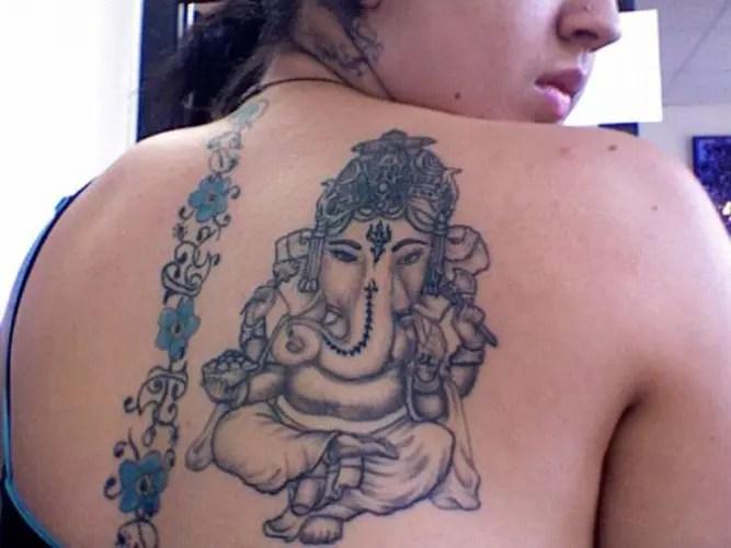 Best Lord Ganesha Tattoo Designs 7