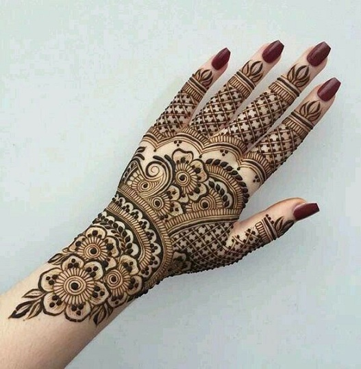 Simple Arabic Mehndi Designs For Full Hands Tattoos Ideas