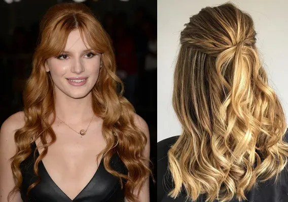 simple hairstyle for college girl
