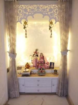pooja colour latest modern peaceful india styles