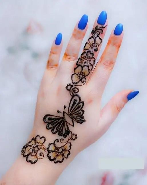 Butterfly Mehandi