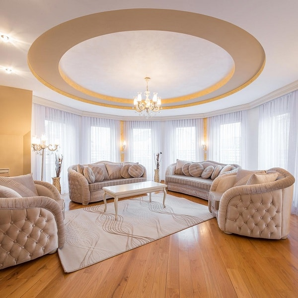 15 Creative Living Room Ceiling Ideas To Try In 2020
