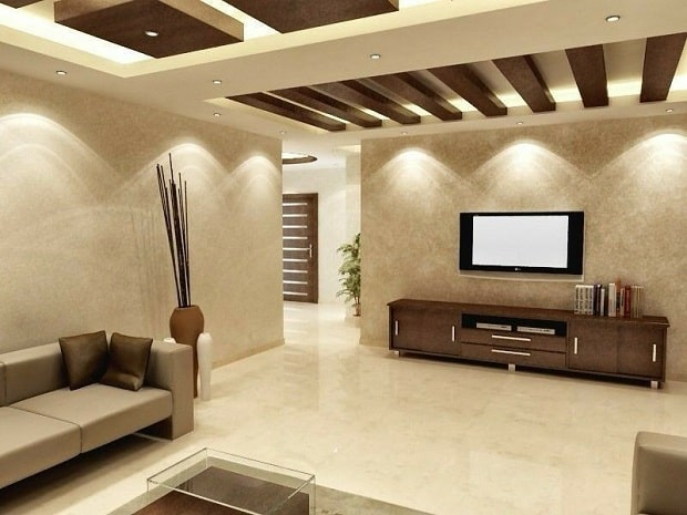 10 Modern Drawing Room Ceiling Designs With Pictures ...