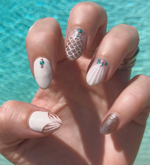 12 Trending Summer Nail Art Designs And Ideas In 2020 Styles At Life