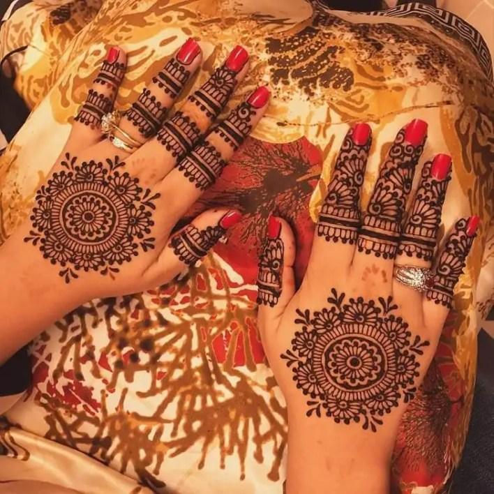 Mehndi Designs For Back Hand