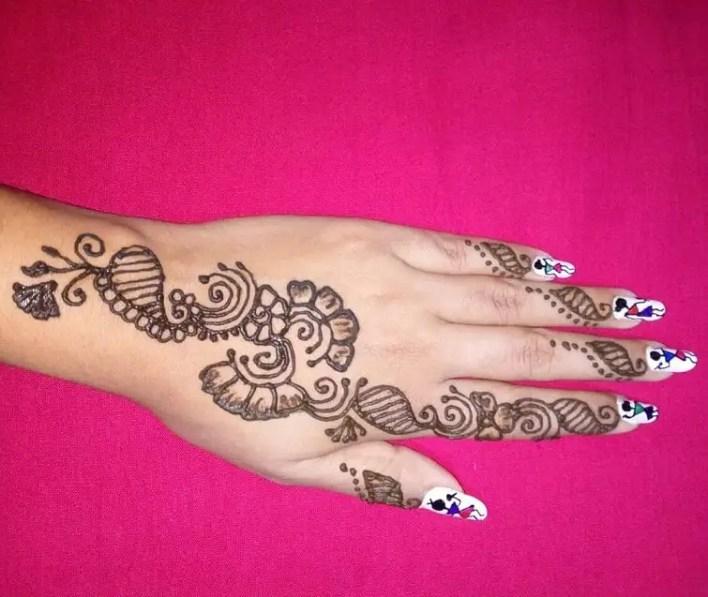 Arabic Mehndi Design