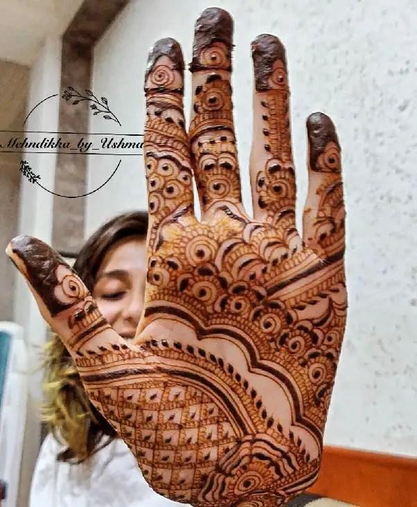 Designer Mehndi Designs