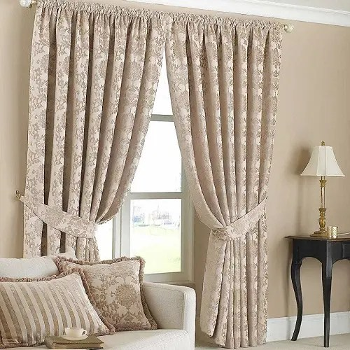 latest curtain designs for drawing room