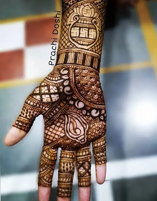Designer Henna Design