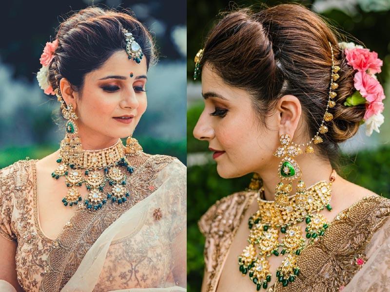 Indian Bride Makeup For Round Face Saubhaya Makeup