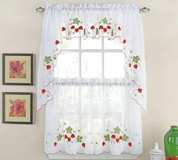 9 modern kitchen curtain designs with