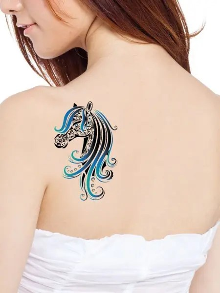 Celtic Horse Tattoo Women