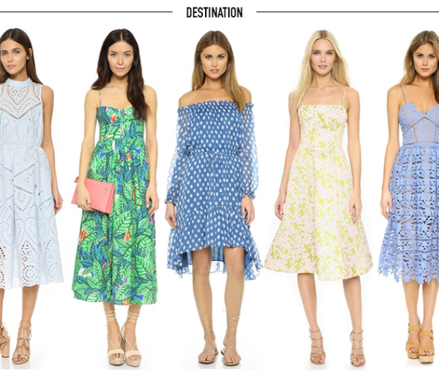 What To Wear To A Spring Summer Wedding