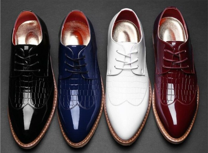 How to Combine Patent Leather Shoes